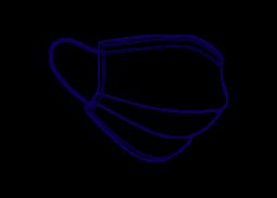 Schutzmaske von Barral